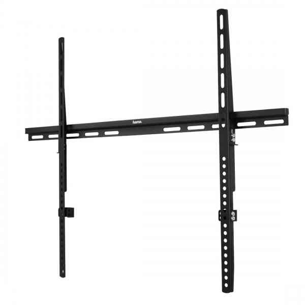 "Hama Fixed Super Flat Wall Bracket For TVs Up To 46""- 63"" - Black"