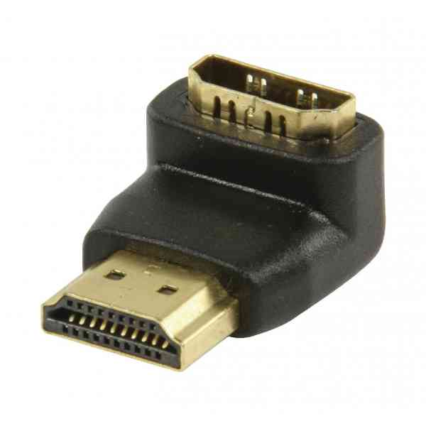 ValuConnect HDMI 90 degree Angled Adapter - HDMI Female to HDMI Male