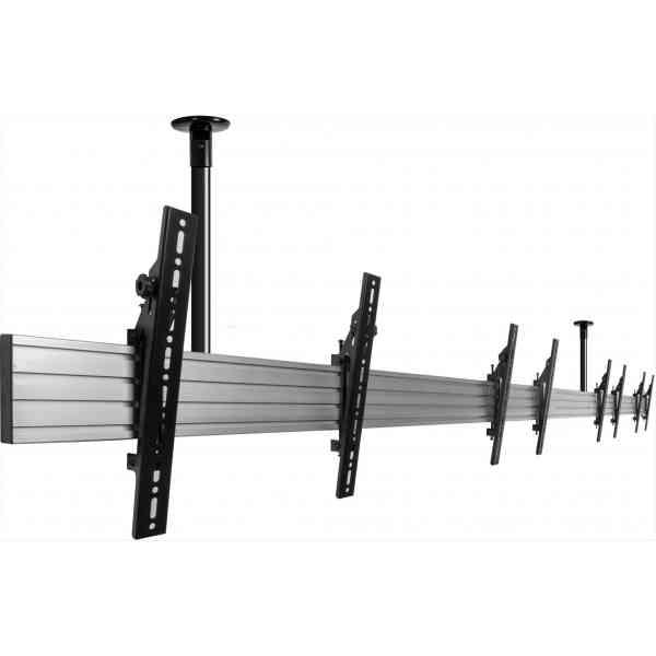 "B-Tech Menu Board 1m Ceiling Mounting System for upto 5x 55"" Screens"