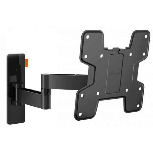 """Vogel's Wall 3145 Extra Thin Full-Motion Wall Bracket for 19"""" to 43"""" TV's - Black"""