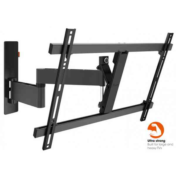 "Vogel's Wall 3345 ExtraThin Full-Motion Wall Bracket for 40"" to 65"" TV's - Black"