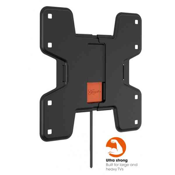 "Vogel's Wall 3105 Fixed TV Wall Bracket for 19"" to 43"" TV's - Black"