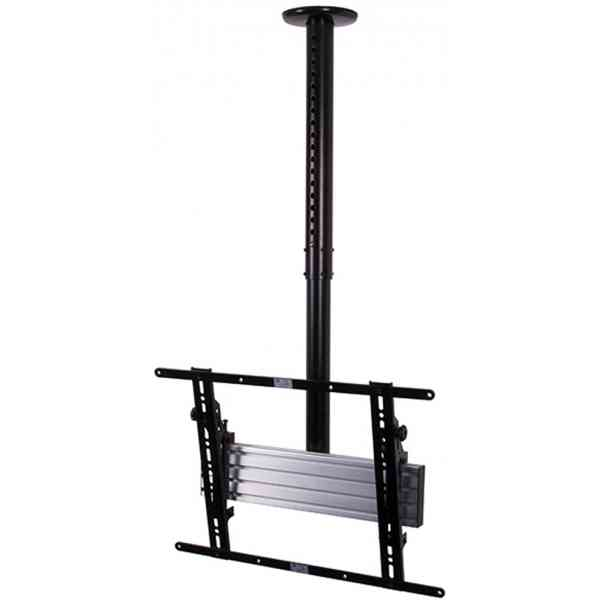 """B-Tech Adjustable Drop Flat Screen Ceiling Mount for up to 65"""" Screens"""