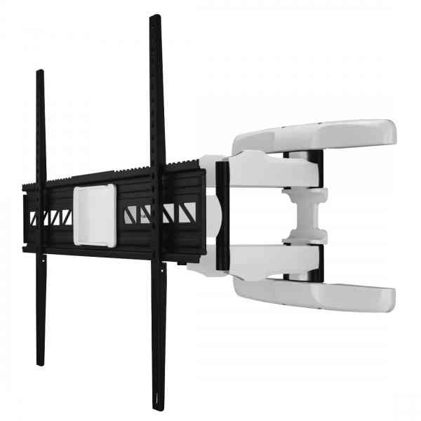 "Hama FULLMOTION TV Wall Bracket up to 90"" - White"